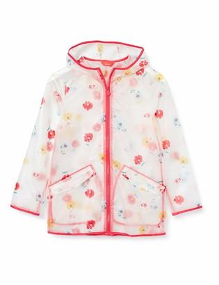 Joules Girl's Raindance Clear Rubber Raincoat