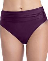 Gottex Satin Nights High-Waist Bikini Bottom