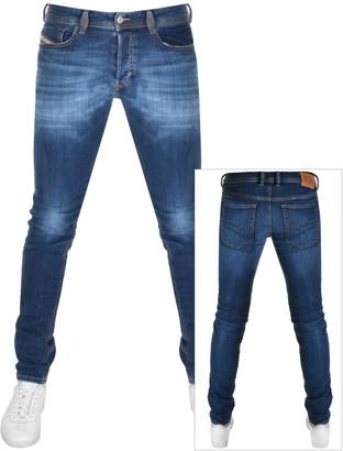 Diesel Sleenker 0097T Skinny Fit Jeans Blue