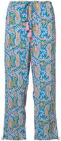 Figue paisley print cropped trousers