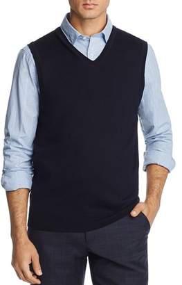 Bloomingdale's The Men's Store at V-Neck Merino Wool Vest - 100% Exclusive