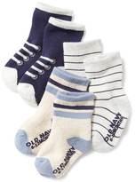 Old Navy Non-Skid Crew Socks 3-Pack for Baby