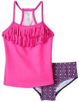 Carter's Toddler Girl Fringe Tankini Swimsuit Set