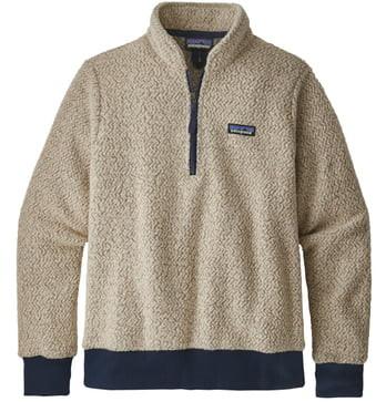 Woolyester Fleece Quarter Zip Pullover