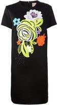 Christopher Kane decades floral shift dress