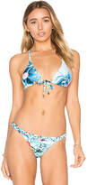 6 Shore Road Domingo Top in Blue. - size M (also in S)