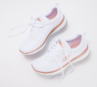Skechers Flex Appeal 3.0 Lace-Up Sneakers- First Insight