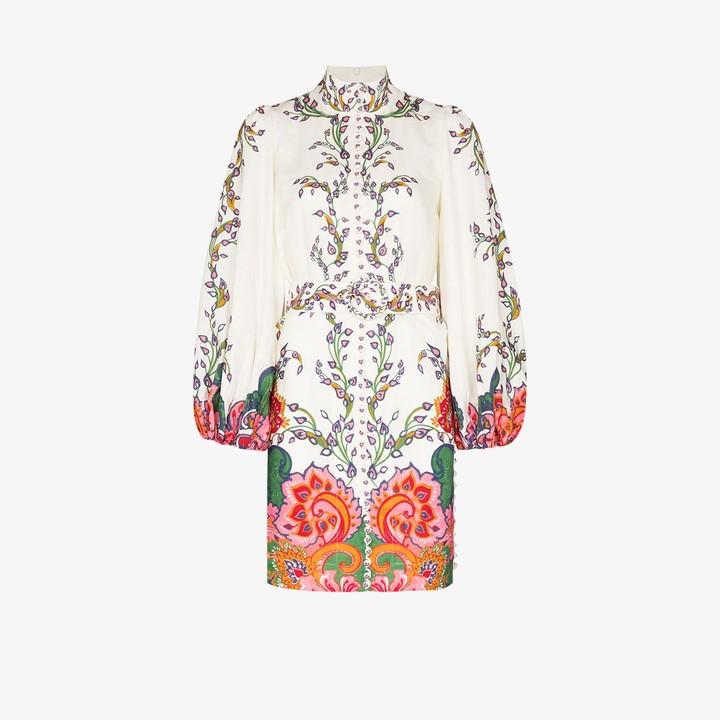 Zimmermann Lovestruck linen tunic dress
