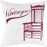 "Decor 140 Bains ""Vintage"" Decorative Pillow - 18"" x 18"""