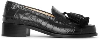 Christian Louboutin Badmoc flat leather loafers