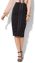 New York & Co. Ruched Pencil Skirt