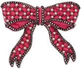 Gucci Velvet bow brooch