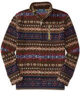 Ralph Lauren Fair Isle Fleece Jacket