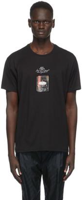 Givenchy Black Rare Printed Patch T-Shirt