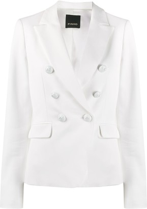 Pinko Fitted Double Buttoned Blazer