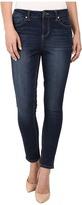 Liverpool Anthem Curvy Piper Contour 4-Way Stretch Denim Ankle Jeans in Orion Medium Dark Indigo