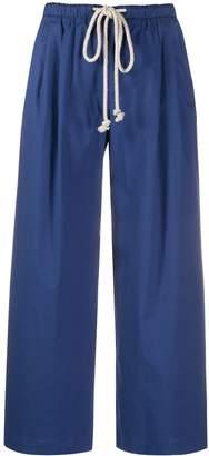 Incotex wide leg trousers