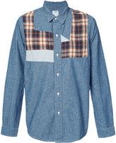 Visvim long-sleeve denim shirt - men - Cotton - 2