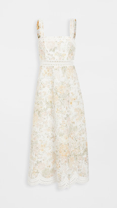 Zimmermann Amelie Embroidered Sundress