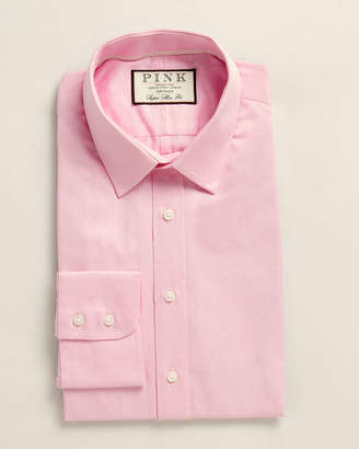 Thomas Pink Super Slim Fit Pattern Dress Shirt