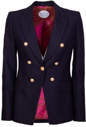 The Extreme Collection Navy Blue Blazer Fabiana