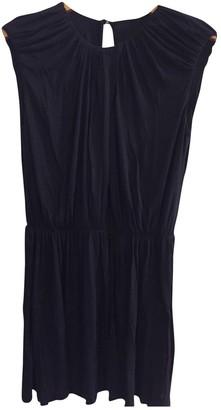 Tara Jarmon Navy Cotton Dress for Women