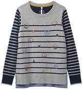 White Stuff Garland Wool Blend Jumper, Multi