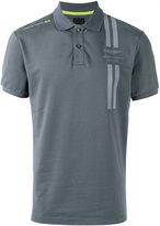 Hackett logo print polo shirt - men - Cotton/Polyester/Spandex/Elastane - S