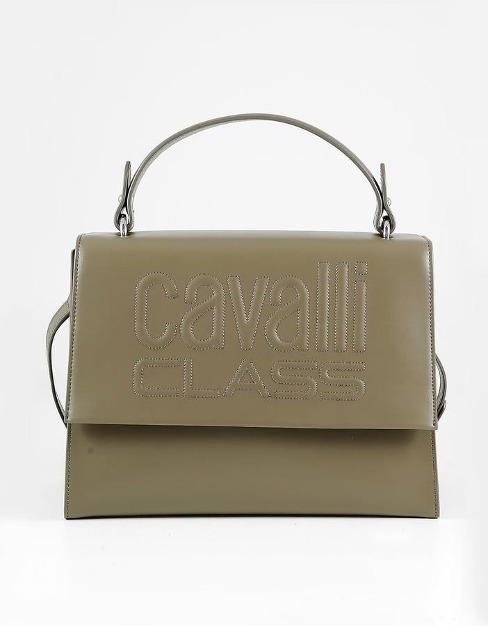 Thumbnail for your product : Class Roberto Cavalli Brown Top Handle Satchel Bag