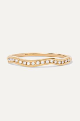 Sebastian Kintsugi Line Gold Diamond Ring - small