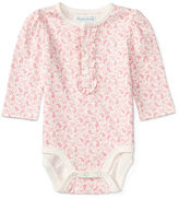 Ralph Lauren Paisley Cotton Bodysuit