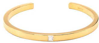 Hestia Jewels Lana Gold Baguette Diamond Bracelet
