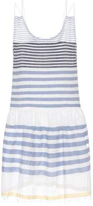 Lemlem Assaman cotton-blend striped dress