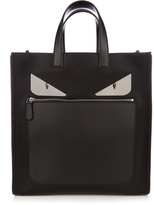 Fendi Bag Bugs nylon and leather tote