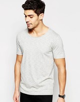 Selected Homme T-shirt With Raw Edge Neck