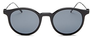 Montblanc Men's Oval Sunglasses, 48mm