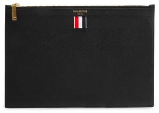 Thom Browne Leather Tablet Holder