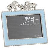 "Michael Aram Boys' Elephant 4"" x 6"" Frame, Blue"