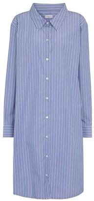Dries Van Noten Striped cotton shirt dress