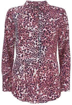 Mint Velvet Scarlett Leopard Print Blouse