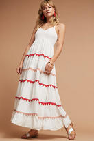 Carolina K. Lorenna Embroidered Maxi Dress