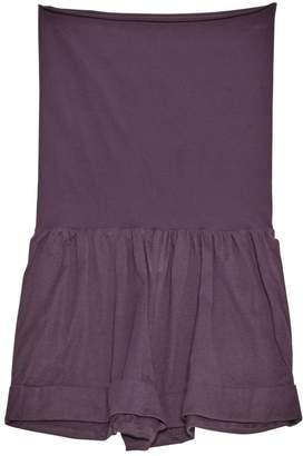 Eres Purple Cotton Jumpsuit for Women