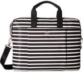 Kate Spade Stripe Nylon Laptop Bag Laptop Case Computer Bags