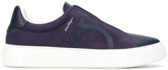 Salvatore Ferragamo Gancini slip-on sneakers