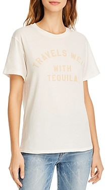 Wildfox Couture Keke Travels Well Graphic T-Shirt
