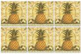 Pimpernel Set of 6 Golden Pineapple Coasters