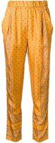 3.1 Phillip Lim friendship knot print trousers