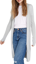 Oasis All Over Rib Edge To Edge Cardigan