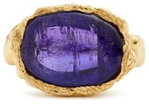 Jade Jagger Tanzanite & yellow-gold ring