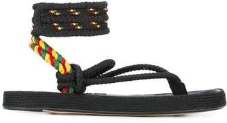 Etoile Isabel Marant rope-tie sandals